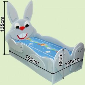 Łóżko dla dzieci Zajączek
