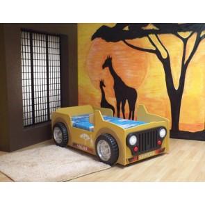 Łóżko samochód Safari Jeep