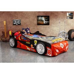 Viper łóżko samochód dla chłopca czerwony
