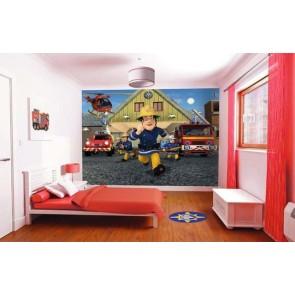 Walltastic fototapeta ścienna Fireman Sam