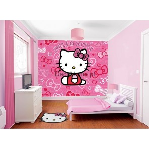 Walltastic fototapeta ścienna Hello Kitty