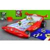 Łóżko samochód Formuła 1 czerwony