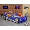 Łóżko samochód Monza niebieski