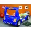 Łóżko samochód Truck niebieski
